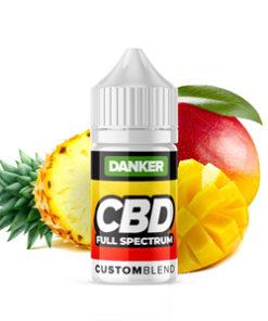 cbd vape juice liquid pineapple mango