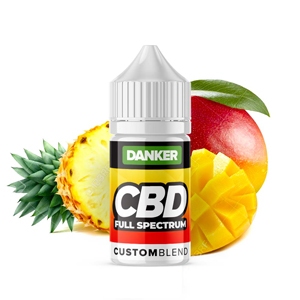 cbd vape juice liquid pineapple mango