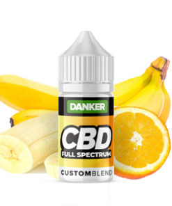 cbd vape juice liquid orange banana